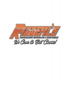RIGGEALS logo orange