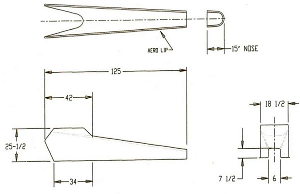 Jr  Dragster Body 2 piece | Riggeal's Performance Fiberglass